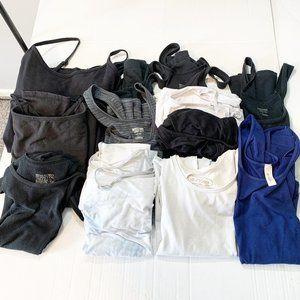 11 Basic Tank Top Camis Size Large